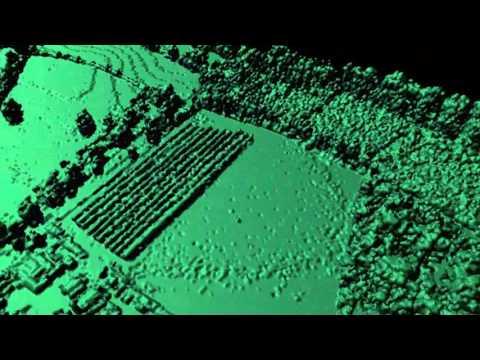DASOS visualisations using New Forest's full-waveform LiDAR data