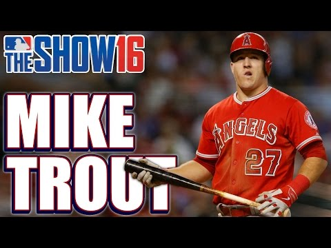 MLB The Show 16 Player Lock Ep.107: Mike Trout