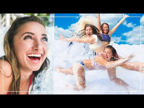 We FiLLED UP our BACK YARD with FOAM! | Behind the Braids Ep.70 Mp3