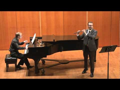 Daniel Sharp Boehm Grand Polonaise, op.16 for flute and piano