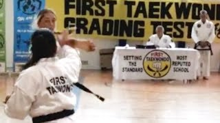 2nd Dan Application Free Sparring