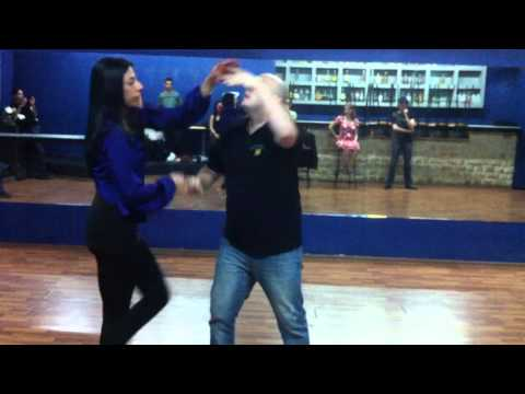 Advance Salsa Workshop In Jerusalem - Fourth Class - DubStep (With Music)
