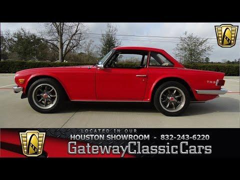 1976 Triumph TR6 Gateway Classic Cars #1140 Houston Showroom