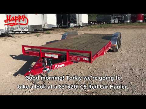 Walk Around of a 2019 PJ C5 Model Car Hauler