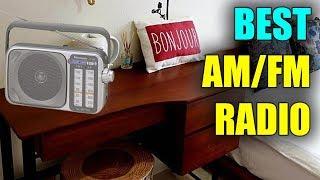 Best AM/FM Radio - Best Portable Radios 2019