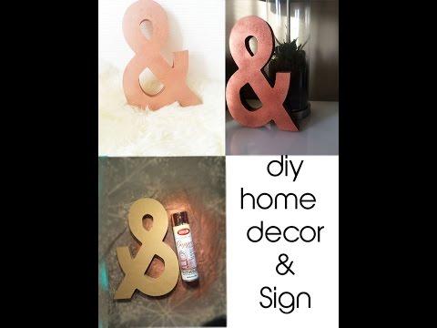 DIY- Home Decor