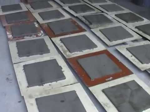 How To Produce Terrazzo Tiles Look At Our Tile Making Machine