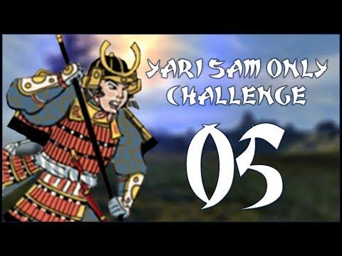 FOILED PLANS - Date (Legendary - Challenge: Yari Samurai Only) - Total War: Shogun 2 - Ep.05!