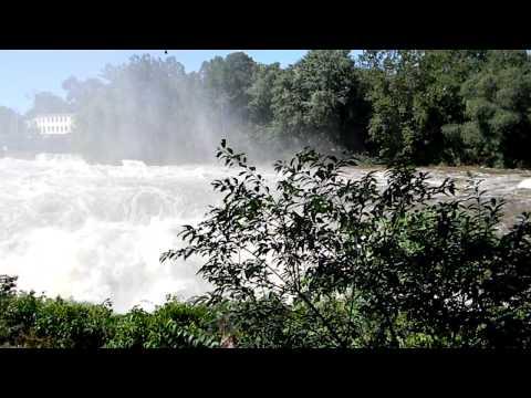 Hurricane Irene, Waterfall in Paterson, NJ