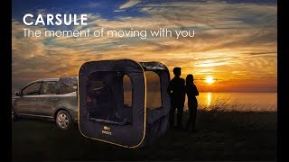 CARSULE  A PopUp Cabin for your Car