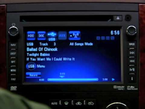 How to: Music Playback Silverado, Avalanche, Tahoe and Suburban
