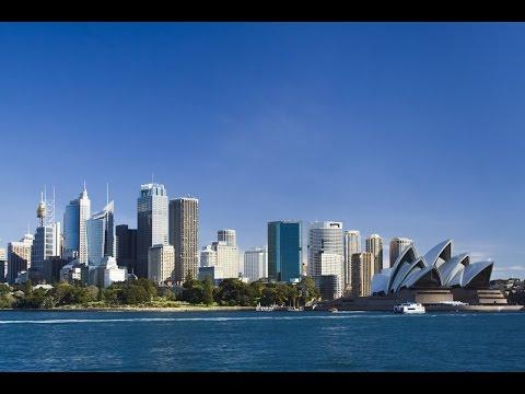Сидней. Вид с залива Порт Джексон. Sydney  Port Jackson