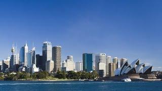 Сидней. Вид с залива Порт Джексон. Sydney  Port Jackson(Сидней-один из самых красивых городов мира. В этом видео Вы увидите, прогулку на катере по заливу Порт Джекс..., 2015-06-16T04:43:07.000Z)