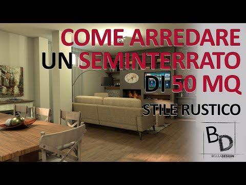 COME ARREDARE un SEMINTERRATO di 50 MQ | Belula Design