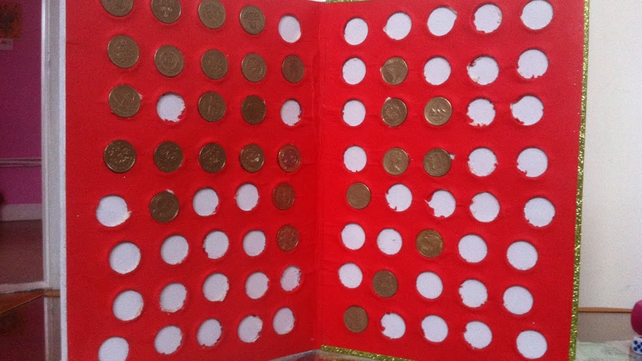 Альбомы для монет своими руками