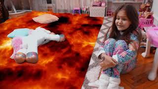 ПОЛ ЭТО ЛАВА смешные истории от Яны Floor is lava
