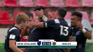 HIGHLIGHTS: New Zealand Under 20 v Wales - 2018