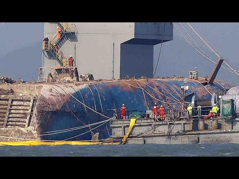 South Korean officials: Sewol salvage operation slower than expected