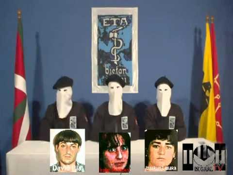 """MICAAL-TV """"Comunicado de ETA -cese definitivo-  castellano/euskera... y la Historia de ETA"""""""