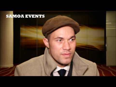 Joseph Parker vs Anthony Joshua SAMOAN Interview