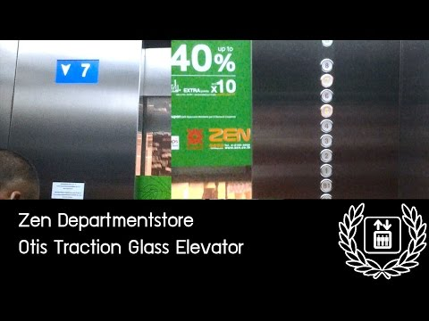 ZEN Departmentstore, Bangkok - Otis GEN2 Traction Glass Elevators