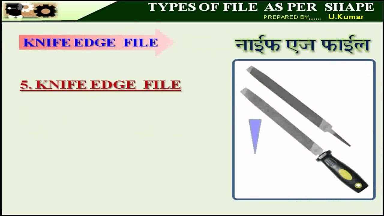 file tool types. 8- types of file as per shape file tool types o