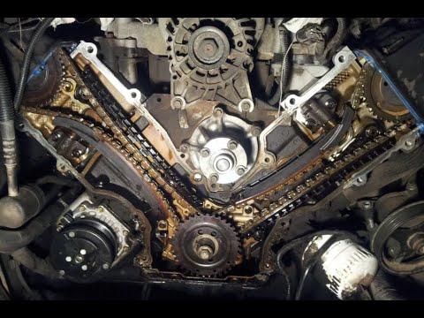 как поменять цепь зажигания ford 5.4