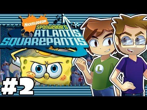 Spongebob's Altantis SquarePantis: Jak & Lev - Part 2