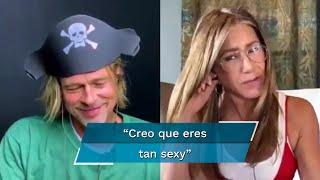 "Sean Penn provocó en encuentro ""apasionado"" entre Jennifer Aniston y Brad Pitt"