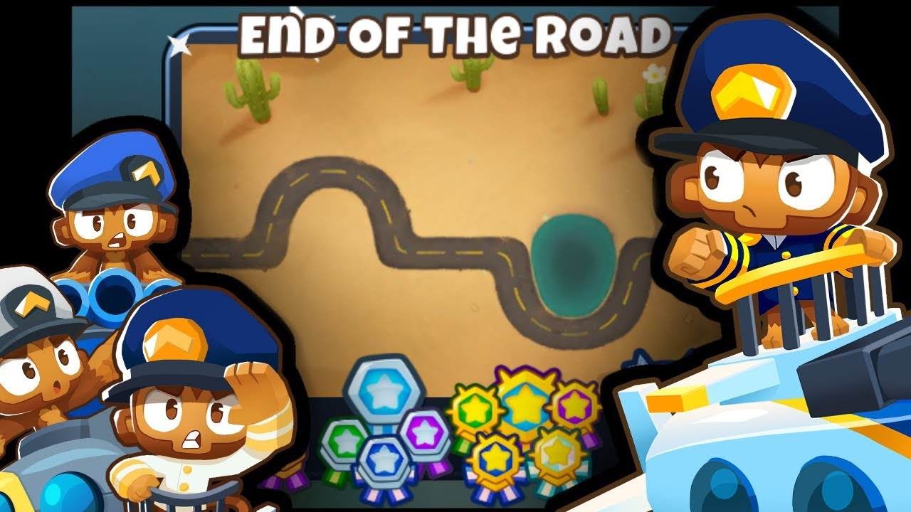BTD6 - End of the Road CHIMPS Black Border (Airburst Madness!) - (Outdated)
