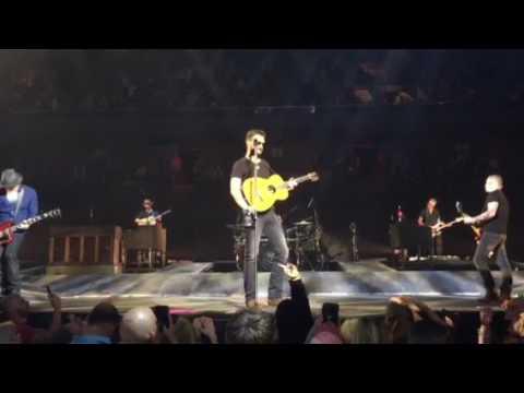 Eric Church -  Record Year - Mohegan Sun , CT - April 27, 2017