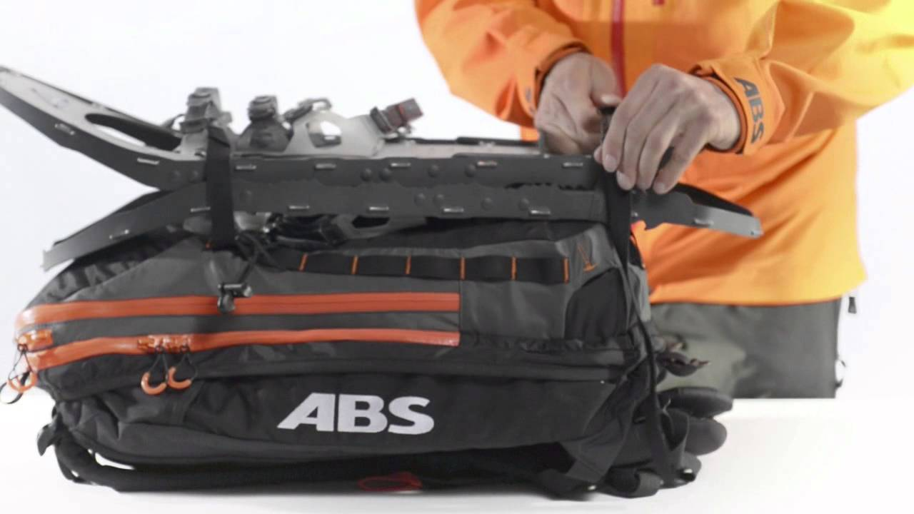 d27bc1f8a58f9 ABS Avalanche Airbag Vario Zip-on Features - YouTube