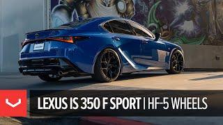 Lexus IS350 F Sport   Vossen Hybrid Forged HF-5