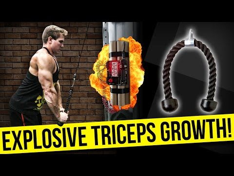 Quick Hack For Bigger Triceps & To Lift More Weight! | GROW YOUR ARMS!