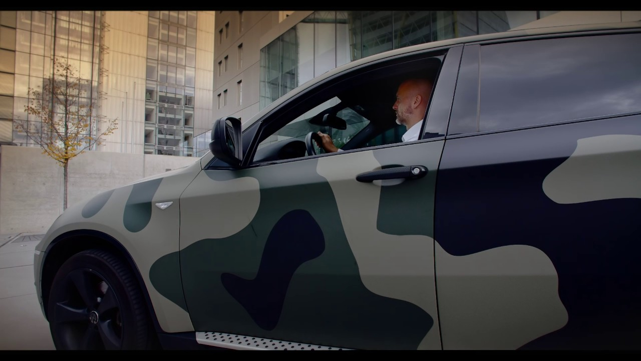 Foilack Military Car Wrap Bmw X6 Youtube