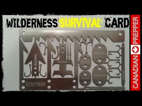 Wilderness Survival Card: Readyman