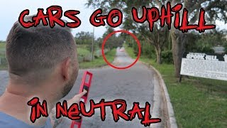 HAUNTED SPOOK HILL (Mysterious Gravity Hill) | OmarGoshTV