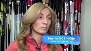 видео Польза катания на лыжах