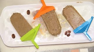 Coffee Chocolate Chip Popsicles - Dairy & Sugar Free