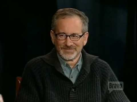 """Steven Spielberg Legendary Interview Question - """"Thank you for that."""""""
