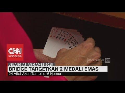 Bridge Targetkan 2 Medali Emas