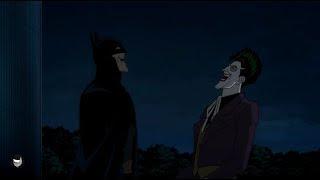 Batman and Joker laugh - Batman: The Killing Joke