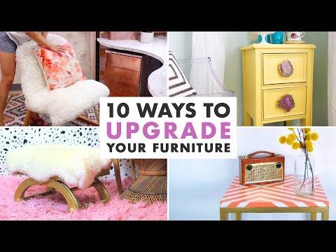 10 DIYs to Upgrade Old Furniture - Furniture Makeovers - HGTV Handmade