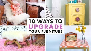 10 DIYs to Upgrade Old Furniture - Furniture Makeovers - HGTV Handmade