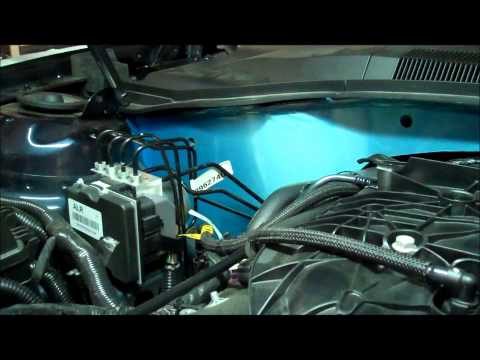 103028 103029 install video Camaro Firewall Polished V6 & V8 2010-2013 from American Car Craft