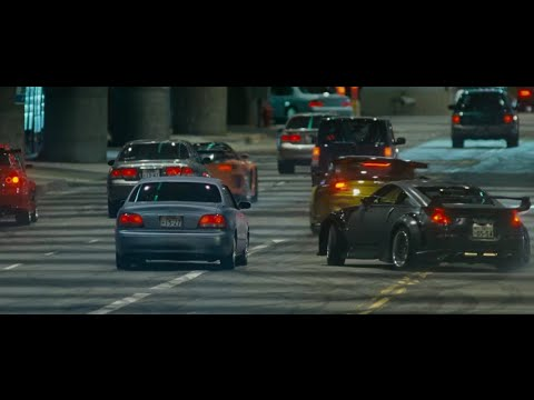 Fast And Furious Tokyo Drift Car Chase Scene