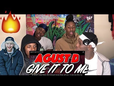 Free Download Agust D 'give It To Me' Mv - Reaction Mp3 dan Mp4