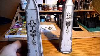 Necron Obelisks Built And Reviewed