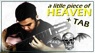 Avenged Sevenfold - A Little Piece of Heaven - Classical Fingerstyle Guitar Cover