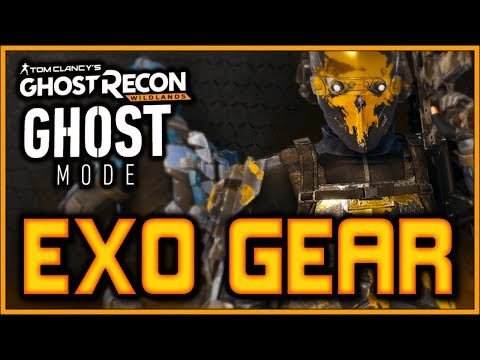 "New ""EXO GEAR"" In Ghost Recon Wildlands GHOST MODE!"